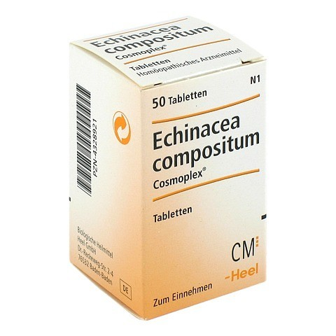 ECHINACEA COMPOSITUM COSMOPLEX Tabletten 50 Stück N1
