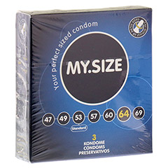 MYSIZE 64 Kondome 3 Stück