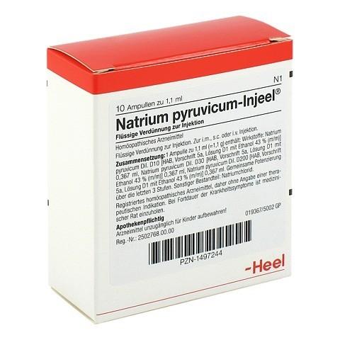 NATRIUM PYRUVICUM Injeel Ampullen 10 Stück N1