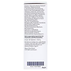 ELEVIT 1 Kinderwunsch & Schwangerschaft Tabletten 30 Stück - Linke Seite