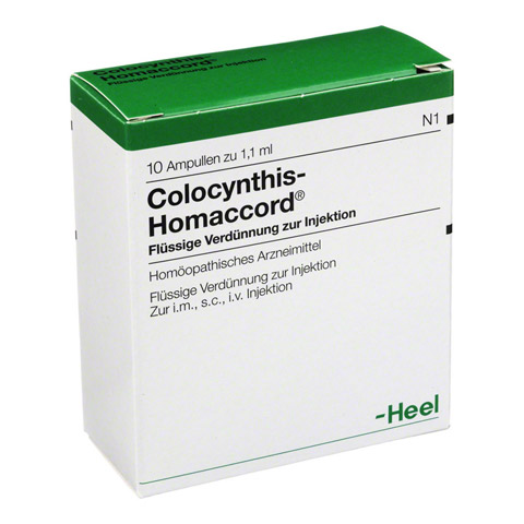 COLOCYNTHIS HOMACCORD Ampullen 10 Stück N1