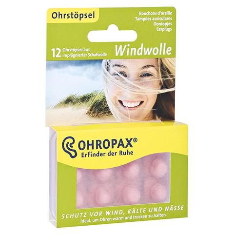 OHROPAX Windwolle 12 Stück