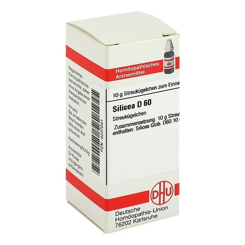 SILICEA D 60 Globuli 10 Gramm N1