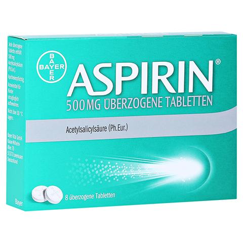 Aspirin 500mg 8 Stück N1