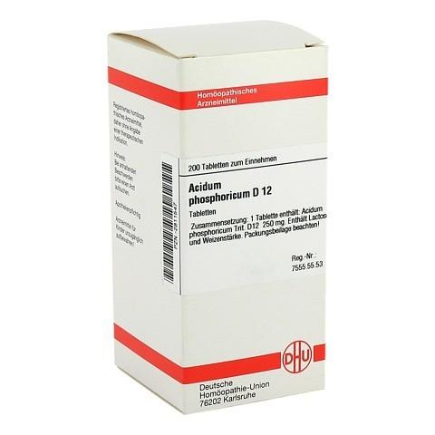 ACIDUM PHOSPHORICUM D 12 Tabletten 200 St�ck N2