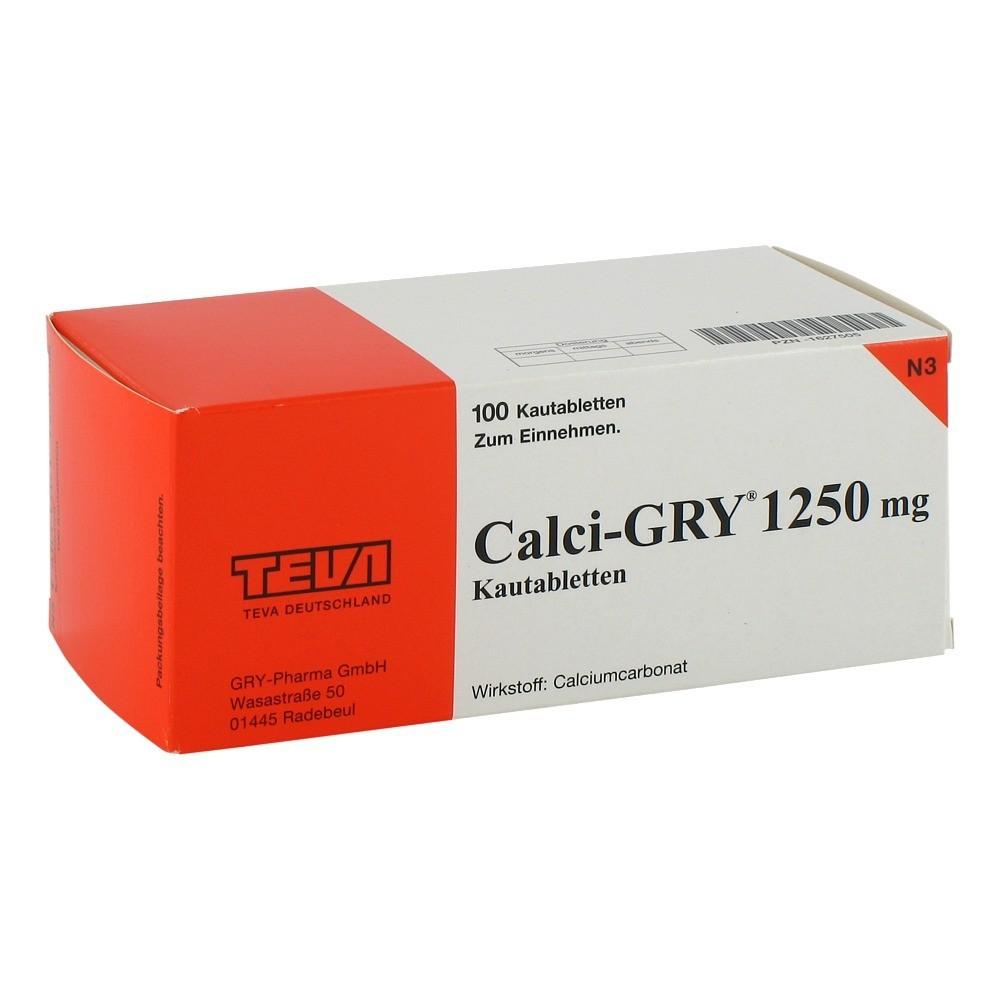 calci gry 1250 mg kautabletten 100 st ck n3 online bestellen medpex versandapotheke. Black Bedroom Furniture Sets. Home Design Ideas