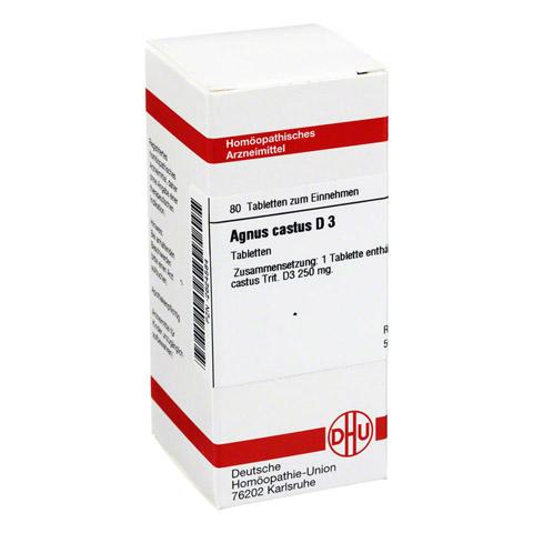 AGNUS CASTUS D 3 Tabletten 80 St�ck N1