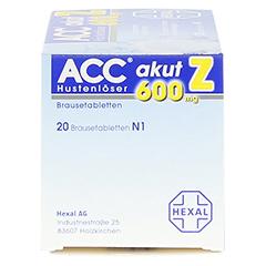 ACC akut 600mg Z Hustenlöser 20 Stück N1 - Rechte Seite