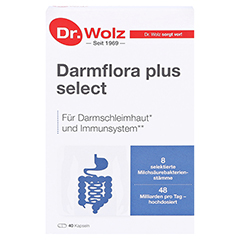 DARMFLORA plus select Kapseln 40 St�ck - Vorderseite