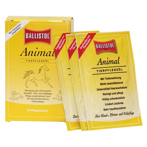 BALLISTOL animal Pflegetücher vet. 10 Stück