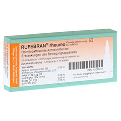 RUFEBRAN rheumo Ampullen 10 St�ck N1
