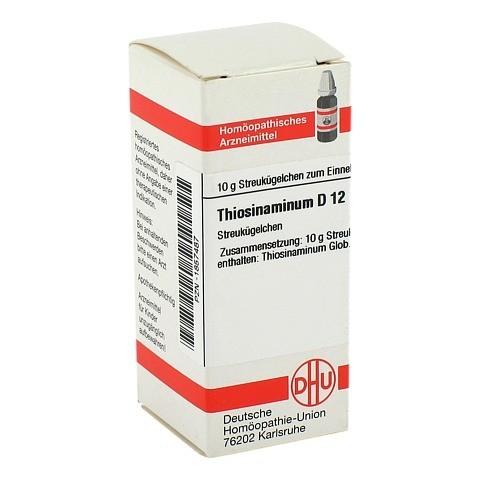 THIOSINAMINUM D 12 Globuli 10 Gramm N1