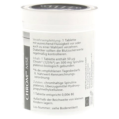 CHROM III MSE 50 �g Tabletten 120 St�ck - Rechte Seite