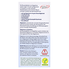 DOPPELHERZ Magnesium 400 Citrat system Brausetabl. 24 Stück - Rückseite