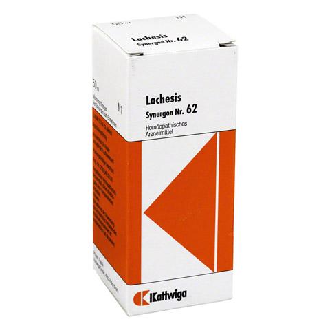 SYNERGON KOMPLEX 62 Lachesis Tropfen 50 Milliliter N1