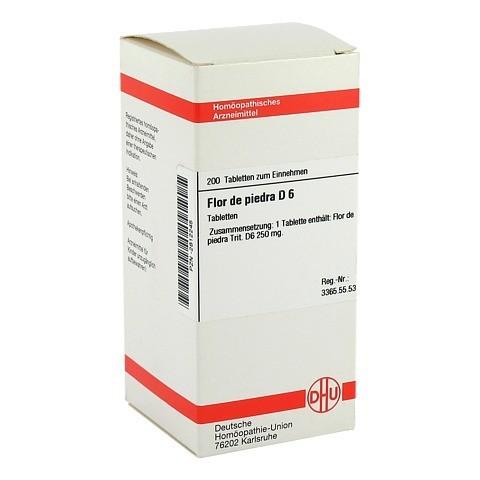 FLOR DE PIEDRA D 6 Tabletten 200 Stück N2
