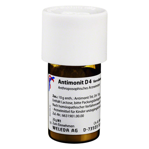 ANTIMONIT D 4 Trituration 20 Gramm N1