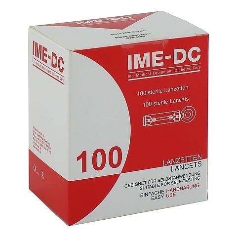 IME DC Lancetten/Nadeln f.Stechhilfegerät 100 Stück