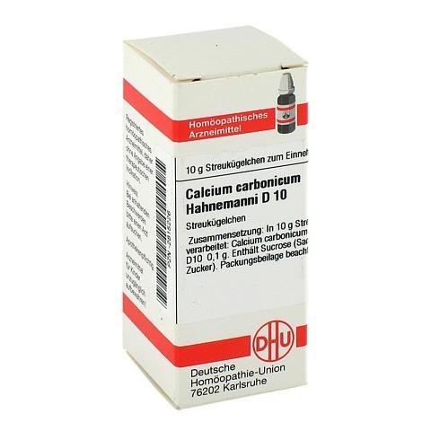 CALCIUM CARBONICUM Hahnemanni D 10 Globuli 10 Gramm N1