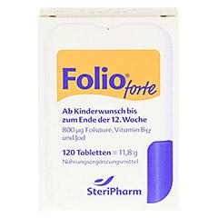 Folio forte+B12 Tabletten 120 St�ck - Vorderseite