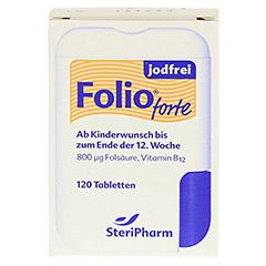 Folio forte jodfrei Filmtabletten 120 Stück - Vorderseite