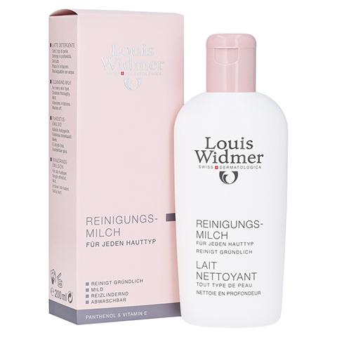 WIDMER Reinigungsmilch leicht parfümiert 200 Milliliter