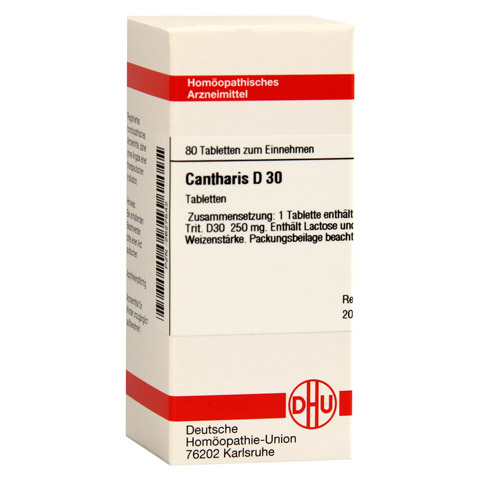 CANTHARIS D 30 Tabletten 80 St�ck