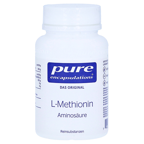 PURE ENCAPSULATIONS L-Methionin Kapseln 60 St�ck