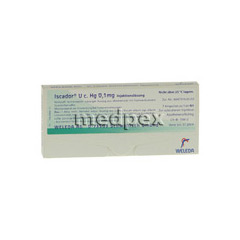 ISCADOR U c.Hg 0,1 mg Injektionsl�sung 7x1 Milliliter N1