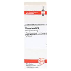 KREOSOTUM D 12 Dilution 20 Milliliter N1 - Vorderseite