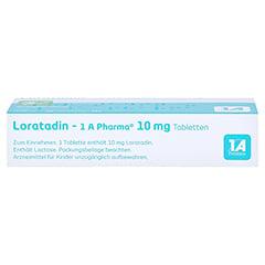 Loratadin-1A Pharma 20 Stück N1 - Oberseite