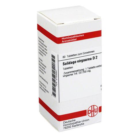 SOLIDAGO VIRGAUREA D 2 Tabletten 80 Stück N1