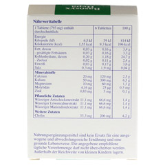 BASOSYX Hepa Syxyl Tabletten 120 Stück - Rückseite