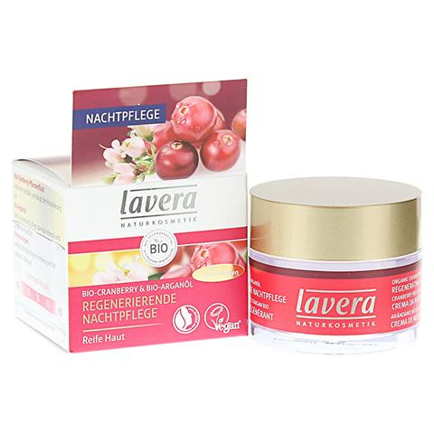 LAVERA regenerierende Nachtpflege Cranberry Creme 50 Milliliter