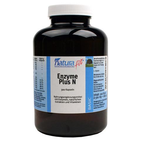 NATURAFIT Enzyme Plus N Kapseln 300 Stück