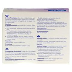 ALVITA physiologische Kochsalzlösung Ampullen 30x5 Milliliter - Rückseite
