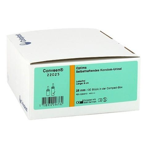 CONVEEN Optima Kondom Urinal 8 cm 25 mm 22025 30 Stück
