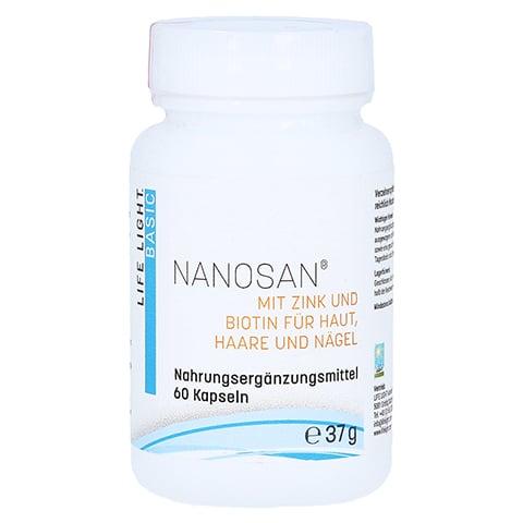 NANOSAN Nanosilicium Kapseln 60 Stück