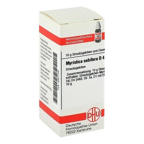 MYRISTICA SEBIFERA D 4 Globuli 10 Gramm N1