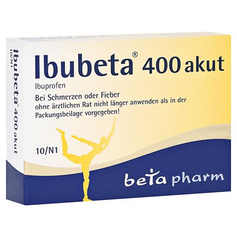 Ibubeta 400 akut 10 Stück N1
