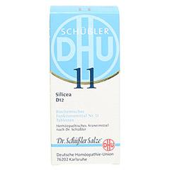 BIOCHEMIE DHU 11 Silicea D 12 Tabletten 200 Stück N2 - Vorderseite