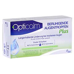 OPTICALM beruhigende Augentropfen Plus in Einzeld. 20x0.5 Milliliter