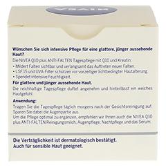 NIVEA VISAGE Q10 Plus Tagespflege 50 Milliliter - Rückseite