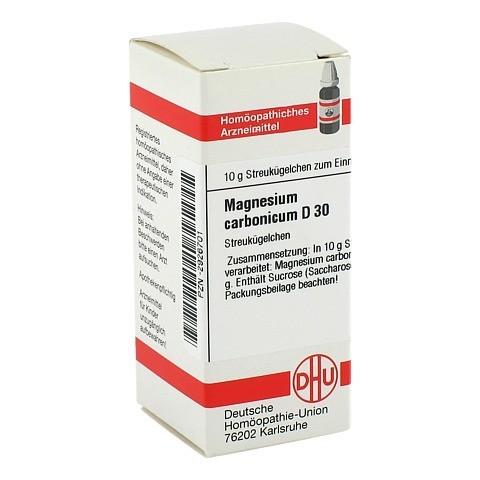 MAGNESIUM CARBONICUM D 30 Globuli 10 Gramm N1