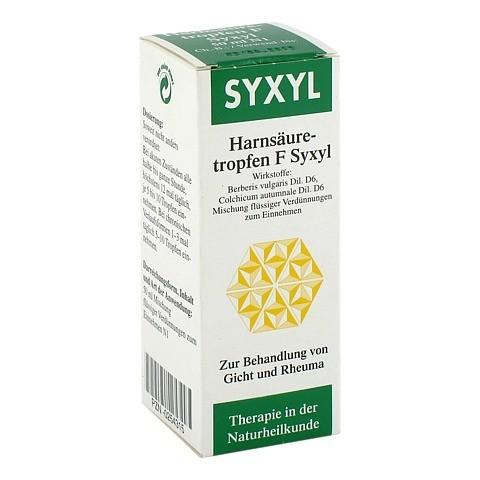 HARNSÄURETROPFEN F Syxyl Lösung 50 Milliliter N1