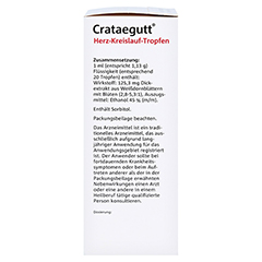 Crataegutt Herz-Kreislauf-Tropfen 100 Milliliter - Linke Seite