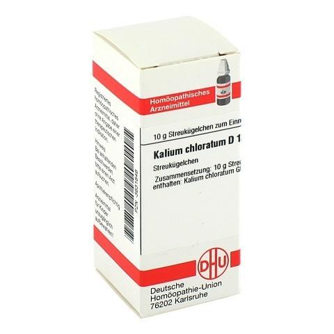 KALIUM CHLORATUM D 12 Globuli 10 Gramm N1