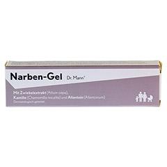 Narben-Gel Dr. Mann 25 Gramm - Rückseite