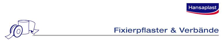 Fixierpflaster & Verbände