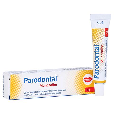 Parodontal Mundsalbe 6 Gramm N1